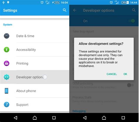 developer options android how to enable developer options in android