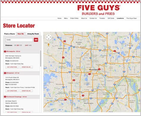 Designing Business Location Website Pages, Part 3 Mass