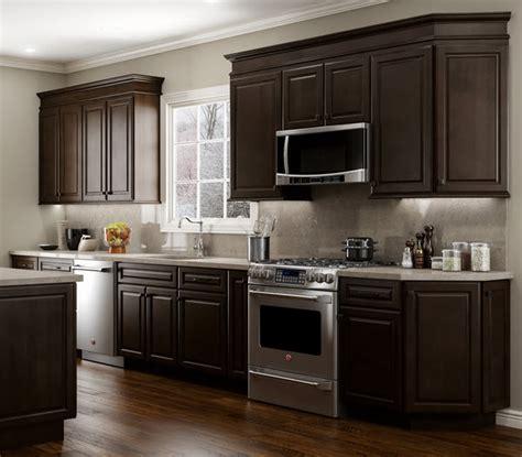 staining kitchen cabinets espresso quincy espresso cabinets home surplus 5703