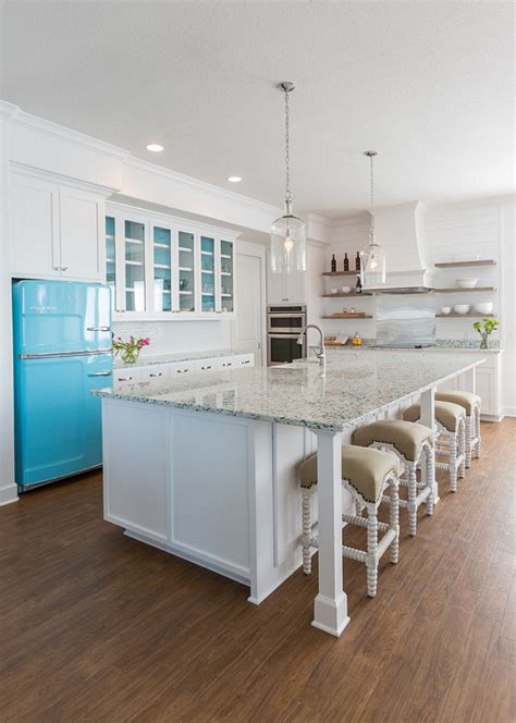 aqua kitchen island house with turquoise interiors home bunch interior 1326