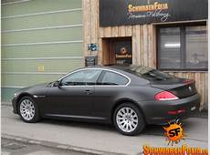 BMW E64 6 Series Comes in Diamond Black Matte from