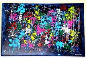 Tableau Peinture Moderne : peinture tsolma tableau abstrait contemporain toile acrylique en avec et keyword 22 1080x1080px ~ Teatrodelosmanantiales.com Idées de Décoration