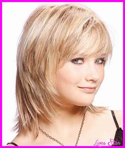 Haircuts for medium straight hair with bangs - LivesStar.Com