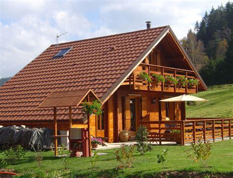 chalet traditionnel de montagne nos chalets en bois chalet