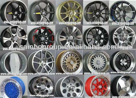 Alloy Wheel Car Alloy Wheel Aluminium Alloy Wheel Sainbo