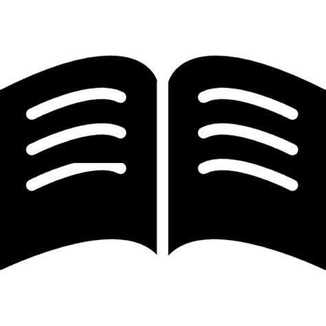 Testo Nere by Libro Di Pagine Nere Con Righe Di Testo Bianche Ha Aperto
