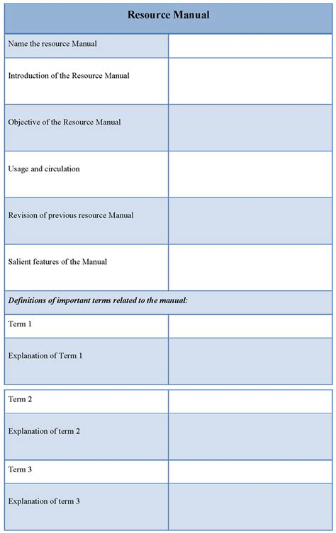resource guide template pin character reference templates on