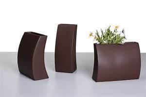 Moderne Vasen Von Designer : design vase mia deko vase keramik mocca vasen modern ~ Bigdaddyawards.com Haus und Dekorationen