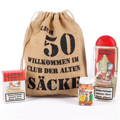 Geburtstagsgeschenk Set 50 Genießbare Geschenkidee für