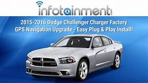 2015-2016 Dodge Challenger Charger Factory Gps Navigation Upgrade