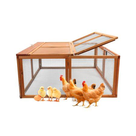 Indoor Wooden Rabbit Hutch by Magshion Wooden Chicken Coop Rabbit Hutch Pet Cage Wood