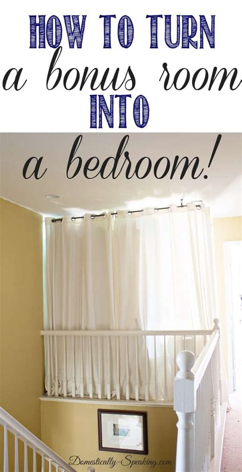 how to turn a small bedroom into a dressing room turning a bonus room into a bedroom domestically speaking 21355 | How to Turn a Bonus Bedroom into a Bedroom thumb