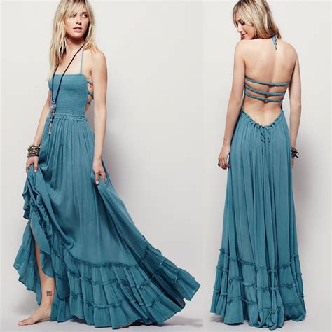 Plain Bohemian Chic Look Dresses Collection u2013 Designers Outfits Collection