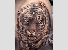 Tatouage Bras Tigre Blanc Tattoo Art