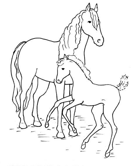 Kleurplaat Paarden Uitprinten by Kleurplatenwereld Nl Gratis Dieren Paarden Kleurplaten