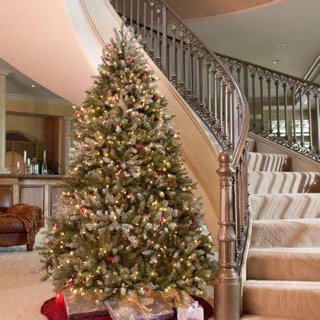 snowy dunhill full pre lit christmas tree walmartcom