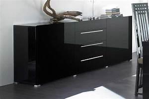 Kommoden Schwarz Hochglanz : kommode schwarz lack elegantes design inkl sideboard 200 ~ Pilothousefishingboats.com Haus und Dekorationen