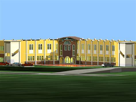 kombinasi warna cat gedung sekolah interior rumah