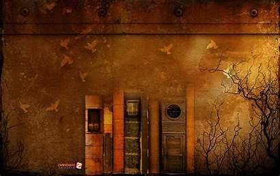 Books Rust Wallpapers Desktop Retro Background Backgrounds