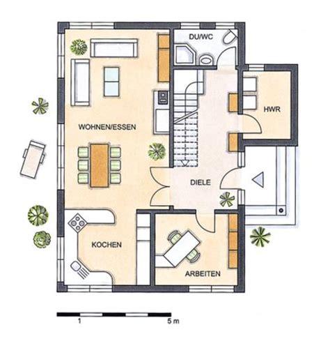 Grundriss Rechteckiges Haus by Einfamilienhaus Grundrisse 120 150 Qm
