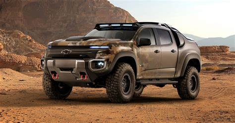 Chevy Making Hydrogen Powered Pickup For The Army