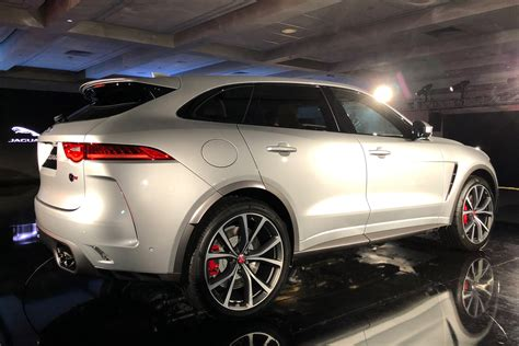 jaguar  pace svr revealed pictures auto express