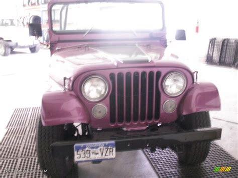 purple jeep interior 1972 custom purple amc jeep cj5 60934755 photo 2