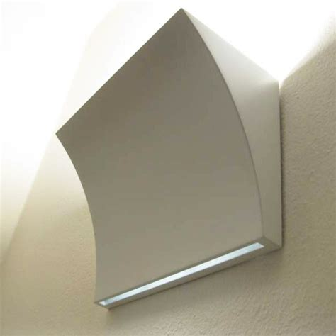 flos pochette up down wall l shiny white stocktons
