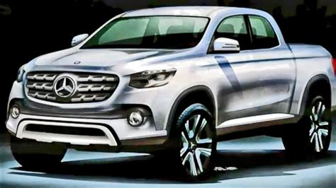 mercedes pickup 2017 2017 mercedes benz pickup by nissan youtube