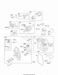 Briggs And Stratton 494054 Parts Diagram For Short Block