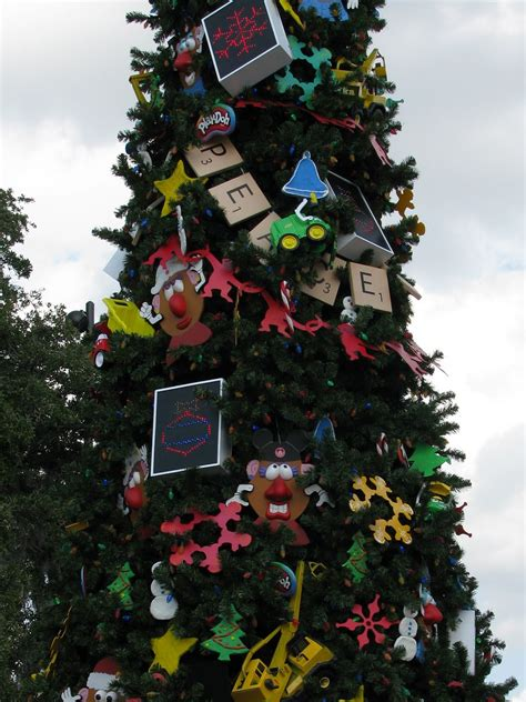 disney world christmas trees show  unique decorations