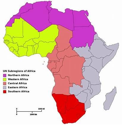 Regions Africa Map Svg 1200 1230 Pixels