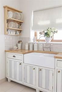 Shabby Chic Küche : shabby chic k che gem tlich und nostalgisch mit einem romantischen flair k che m bel ~ Markanthonyermac.com Haus und Dekorationen