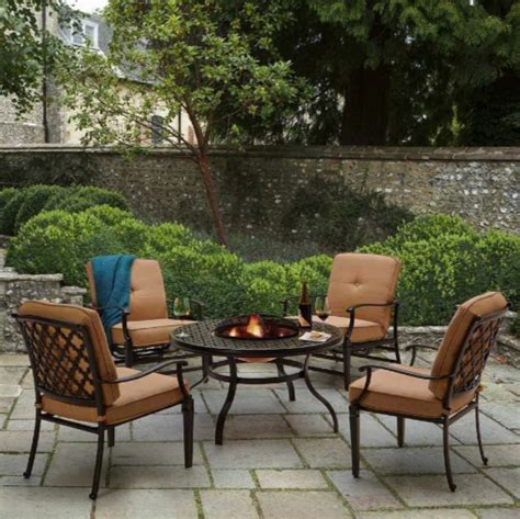 strathwood whidbey cast aluminum outdoor patio furniture