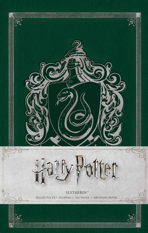 potter harry slytherin journal pocket ruled hardcover insight editions hr books hardback official journals resolution insights