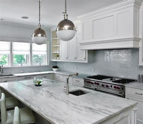 pictures of kitchens with grey cabinets white marble is beautiful but not practical 9121