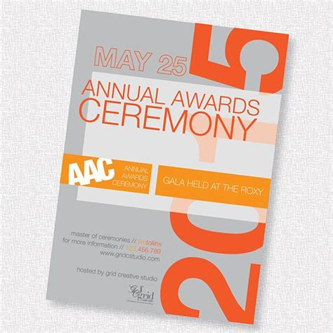 12+ Glorious Award Ceremony Invitation Templates PSD AI