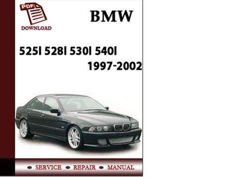 car repair manuals online pdf 2003 bmw 525 spare parts catalogs bmw e39 5 series 525i 528i 530i 540i sedan sport wagon 1997 200