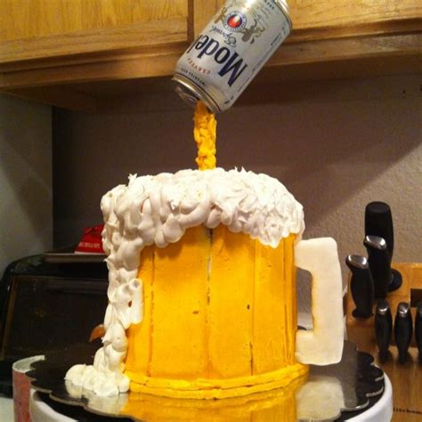 images  beer cakes  pinterest