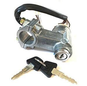 New Ignition Switch Steering Lock Assembly Keys