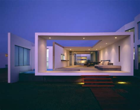 modern beach house  peru idesignarch interior design