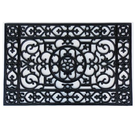 Home & More Utopia 24 in. x 36 in. Rubber Door Mat 900042436 The Home Depot