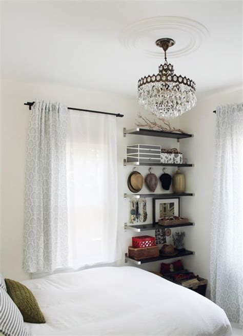 small bedroom ideas floating wall shelves dont