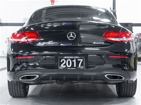 Although the they share the same width, the coupe we drove the c300 on andalusian highways and back roads. Certified Pre-Owned 2017 Mercedes-Benz C300 4MATIC® Coupe 2-Door Coupe in Kelowna #X8420 ...