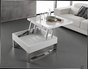 emejing table salon moderne design contemporary amazing With table basse opium blanche