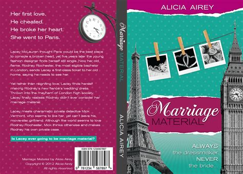 how to design a book cover book cover design for chic lit novel marriage material