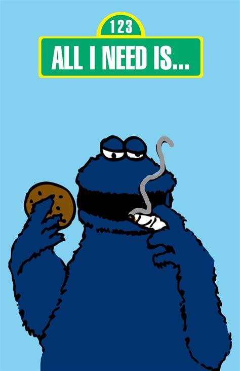 cookie monster weed             pinterest
