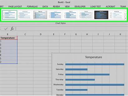 Excel Graph Bar Spreadsheet Data Steps Into