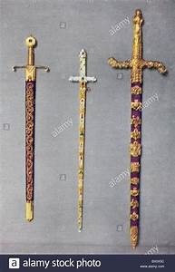 From left to right, The Sword of Mercy or Curtana, The ...
