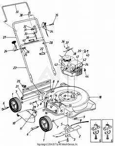 Mtd Greenbrier Mdl 118 50625 Parts Diagram For Parts